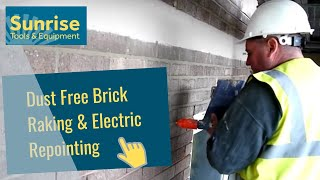 Dust Free Brick Raking & Electric Repointing