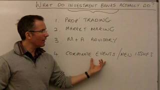 What Do Investment Banks Actually Do? - MoneyWeek Investment Tutorials