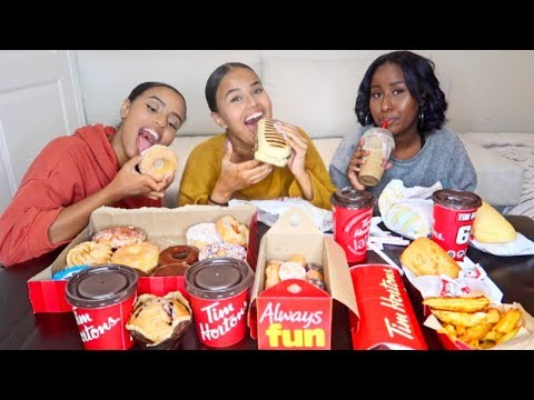 TIM HORTONS MUKBANG | ABUSE & FAKE YOUTUBE COUPLES