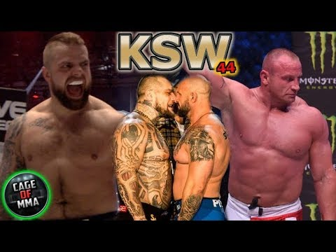 KSW 44 - Fight Card