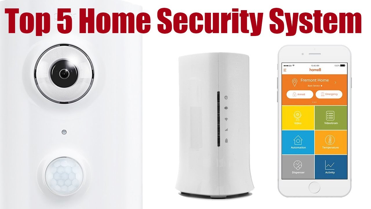 top 5 smart home security systems you can buy on amazon. Black Bedroom Furniture Sets. Home Design Ideas