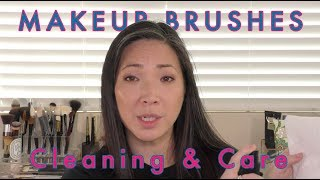 Makeup Brushes - How I Clean & Care For Them