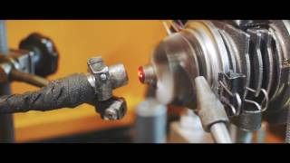 видео ремонт турбины в Киеве