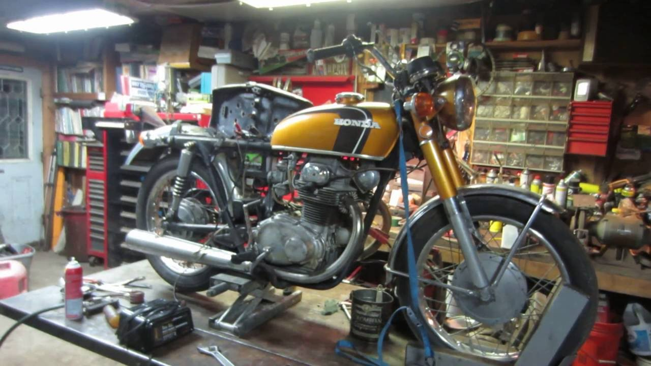 small resolution of barn find 1971 honda cb 350 lets make the go parts go