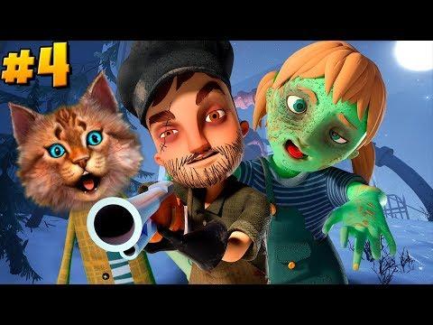 Весёлый Кот играет в Привет сосед прятки 4 акт ► Hello Neighbor Hide And Seek Act 4