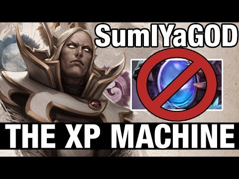 THE XP MACHINE - SumIYaGOD Plays Invoker - Dota 2