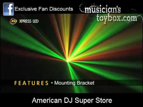 American DJ Express Xpress LED Demo Video