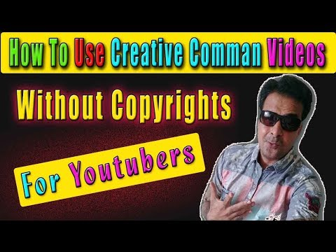 how to use, creative commons video, copyright strike, on, creative commons videos, view attributions