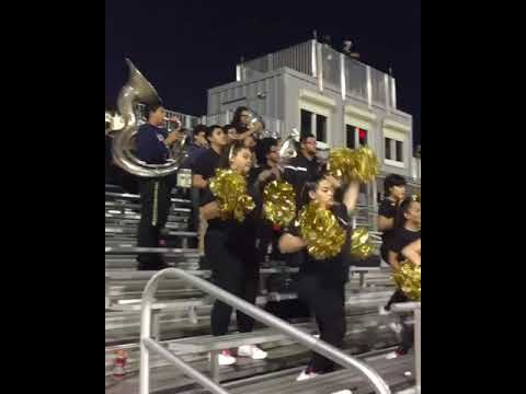 Miami Sunset Golden Knights Band and Sunsations (Hey Song) Homecoming 2017