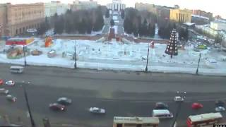 Meteorite hits Russia impact Video Collections of meteorite explosions