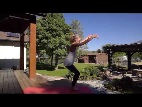 yoga outside  let freedom flow  intermediate  youtube