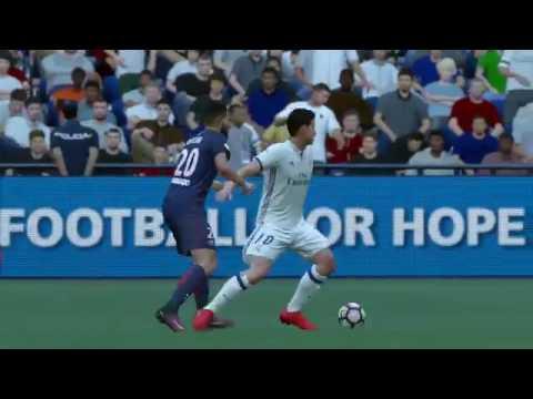 FIFA 17   Real Madrid vs PSG FULL GAMEPLAY (PS4/Xbox One)