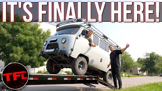 I Bought The Craziest Russian 4x4 Van Sight Unseen (From Russia): Was It a HUGE Mistake?