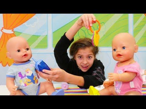 Полен работает няней - Видео для девочек