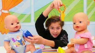 Работа для Полен - Няня - Видео для девочек с куклами