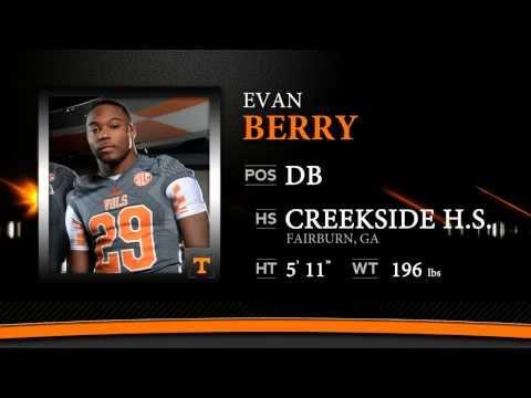 Evan Berry Highlights - #VolsNSD14