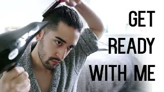 Get Ready With Me ( Men's Grooming, fashion and hair tutorial ) ✖ James Welsh
