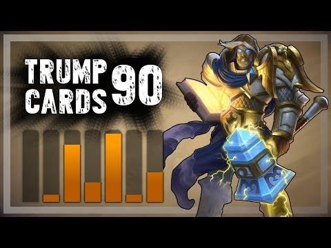 Hearthstone: Trump Cards - 90 - Third Free to Play Shaman Run (Paladin)
