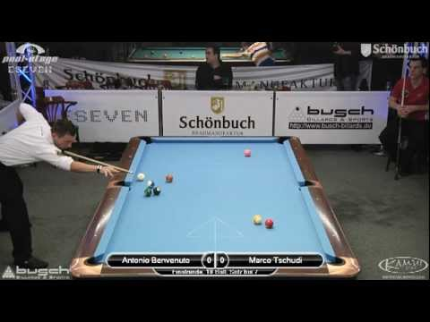 Stuttgart Open 2011 Benvenuto-Tschudi, 10-Ball, Pool Billard