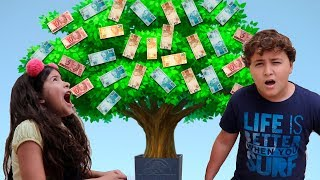 A moeda mágica e a árvore de dinheiro ♥ THE MAGIC COIN AND THE MONEY TREE