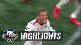 Atlanta United vs. New York Red Bulls | MLS Highlights | FOX SOCCER