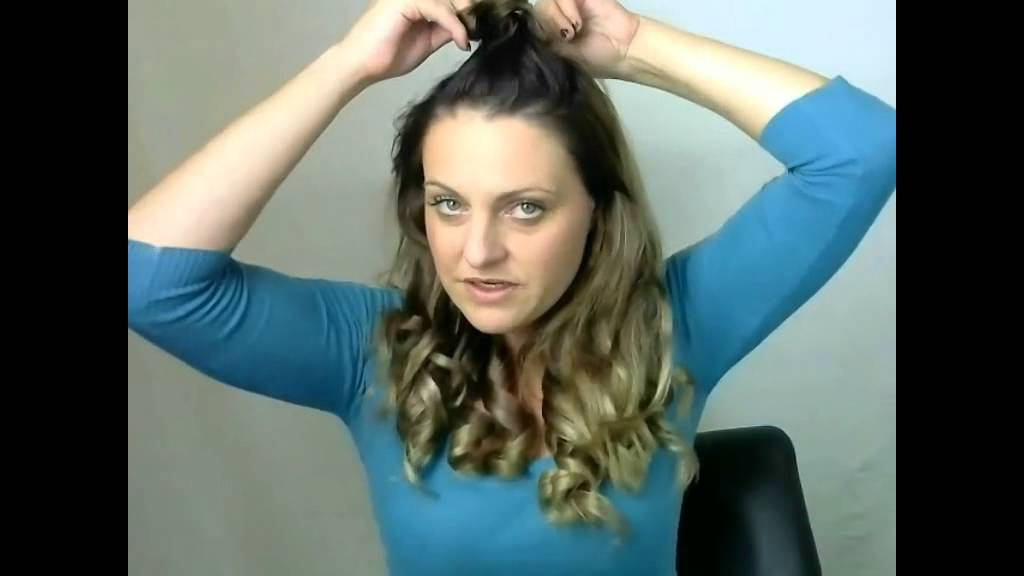 Ghd Curls On Hair Extensions Youtube