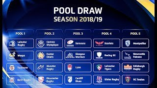 Will leinster, munster or ulster be happier with the champions cup pool draw?