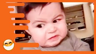 Try Not to Laugh with Funniest Angry Baby  Funny Baby Videos
