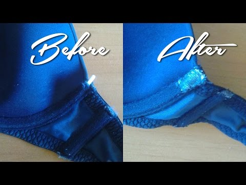 How to Fix a Bra Wire (FASHION HACK) Stop Those Wires From Poking Your Skin