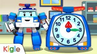 고장난 시계 고치기 | 똑딱똑딱! 폴리시계 | 폴리 영…
