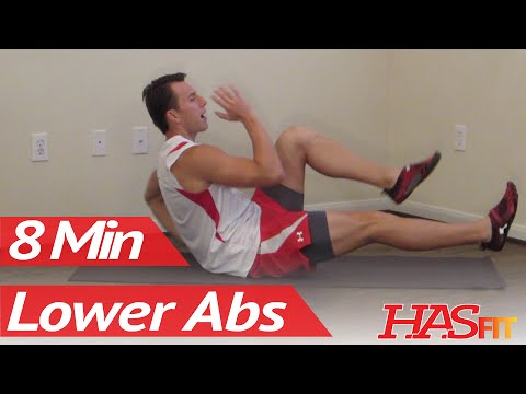 How do you work out the lower abs and love handles?