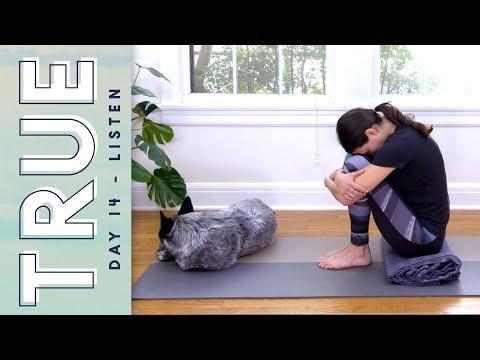 Download Youtube: TRUE - Day 14 - LISTEN  |  Yoga With Adriene