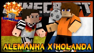 Alemanha x Holanda - CopaCraft Rodada #05 (Minecraft)