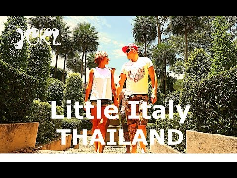 From THAILAND to ITALY in 1 MINUTE - Palio Village & PB Valley - Road Trip III