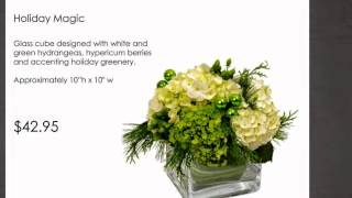 Field of Flowers Holiday Arrangements