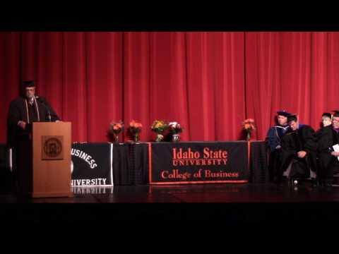 Idaho State University College of Business 2017 Graduation Ceremony