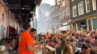 King's Day / Koningsdag Amsterdam 2018 HD