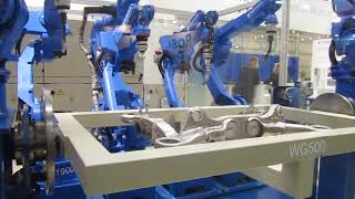 Yaskawa Motoman Welding Robot Full Solution 7 Robots