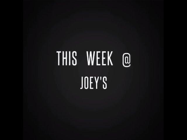 This week at Joeys :)