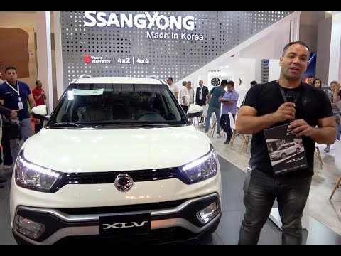 سانج يونج تيفولى xlv بكل حياديه SSANGYONG TIVOLI XLV review