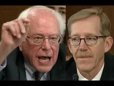 """IS CLIMATE CHANGE A HOAX??!!"" Bernie Sanders Uses Senate Hearing to DESTROY Donald Trump"