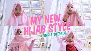 Kamera Jatuh Tutorial Simple My New Hijab Style Untuk Ke Mall Youtube