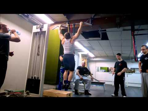 Today's training - pull ups 6.2.2015 Dmitrij Jakovlev with NSW