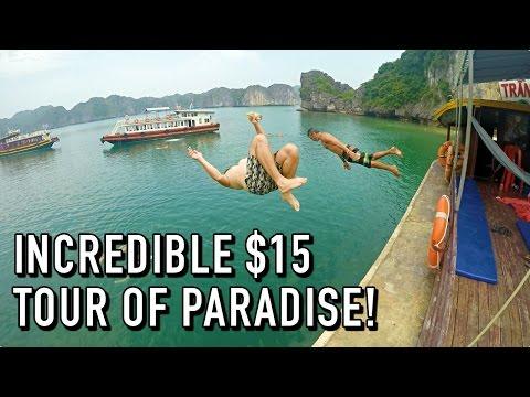 INCREDIBLE $15 TOUR OF PARADISE! | Ha Long Bay, Vietnam