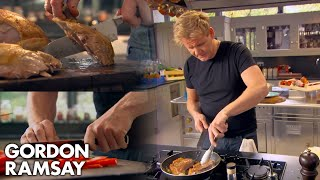 Gordon Ramsay Demonstrates Baṡic Cooking Skills | Ultimate Cookery Course