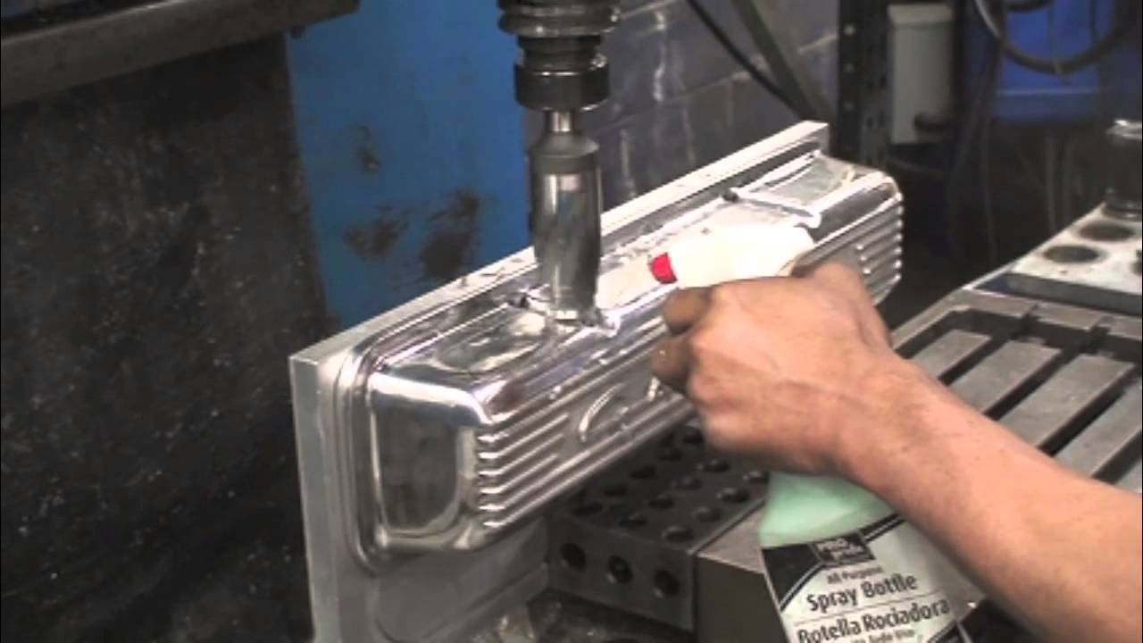 Adding A Breather Hole To Pml Valve Covers Youtube