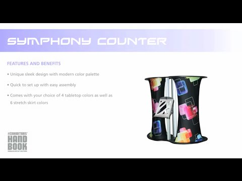 Symphony™ Counter Set Up Thumbnail