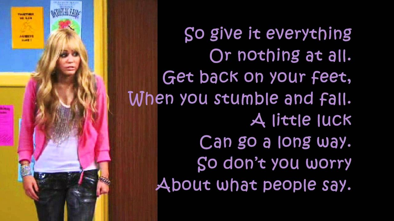 Hannah Montana Forever - Ordinary Girl - Full Song With ...