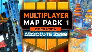 BLACK OPS 4 DLC1 EARLY GAMEPLAY & Operation Absolute Zero Reveal! (New Guns, Maps, Zombies TOMORROW)