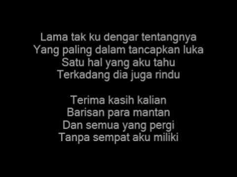Terlatih Patah Hati + Lirik - The RaiN
